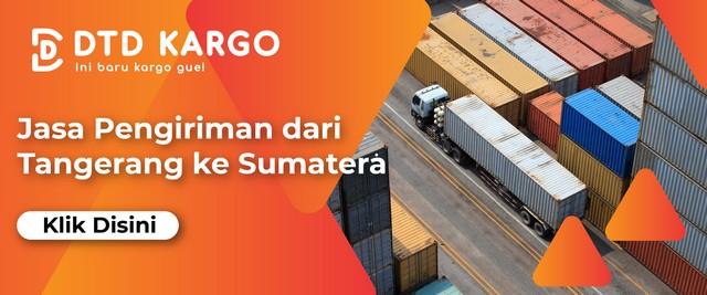 ekspedisi cargo tangerang sumatera